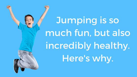 Fun + Healthy = JUMPING
